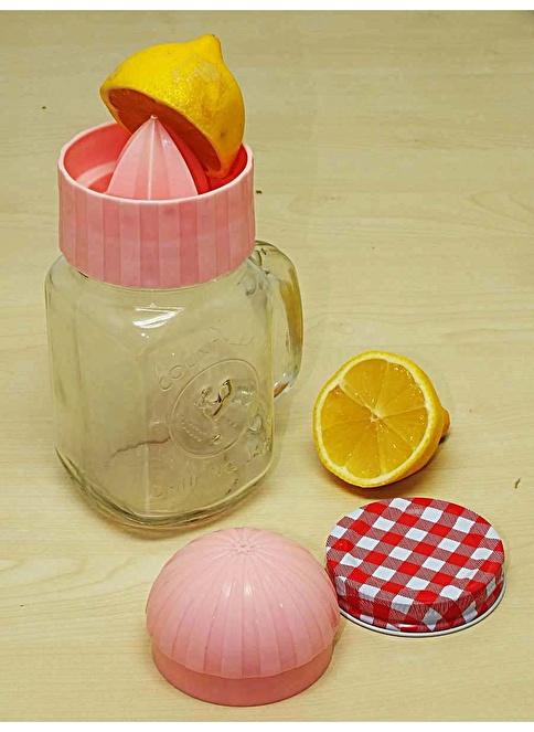 Mizzy Home Cam 2 Parça Limon Sıkacağı Ve Bardak Renkli